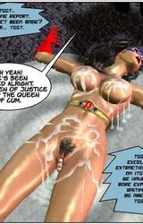 Superheroine élvezés