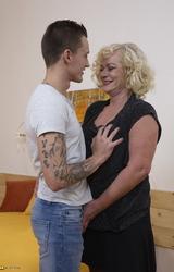 Sara Szőke Nagy Cicis Anya Fiával Dug - 26/162 kép