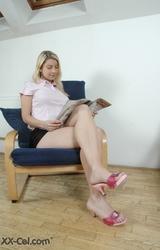 Kati a szőke titkárnő gyakornok
