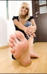 szőke lábfétis pornó