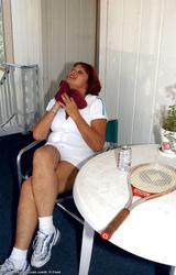 Amatőr Cigány Nagy Cicis Anya Teniszezik 736 - 6/68 kép