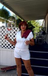 Amatőr Cigány Nagy Cicis Anya Teniszezik 736 - 4/68 kép