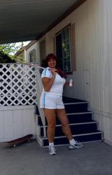 Amatőr Cigány Nagy Cicis Anya Teniszezik 736 - 2/68 kép