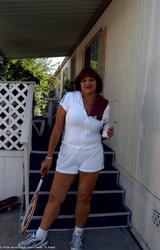 Amatőr Cigány Nagy Cicis Anya Teniszezik 736 - 3/68 kép