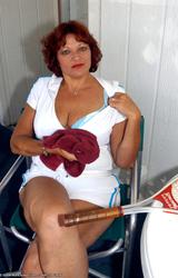 Amatőr Cigány Nagy Cicis Anya Teniszezik 736 - 8/68 kép