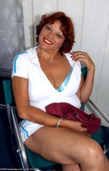 Amatőr Cigány Nagy Cicis Anya Teniszezik 736 - 9/68 kép