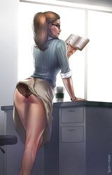 MILF fasz pornócső