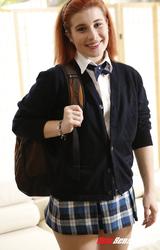 Iskola után egy kis meztelen fotózás